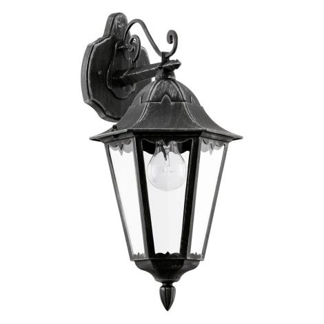 Eglo 93456 - Kültéri fali lámpa NAVEDO 1xE27/60W/230V