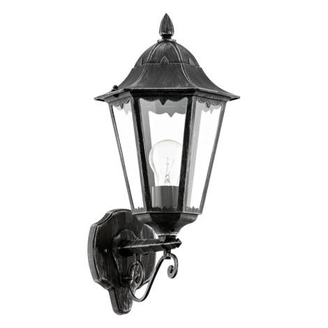 Eglo 93457 - Kültéri fali lámpa NAVEDO 1xE27/60W/230V