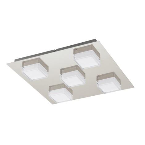 EGLO 93509 - MASIOLA LED-es fali/mennyezeti lámpa 5xLED/2,5W