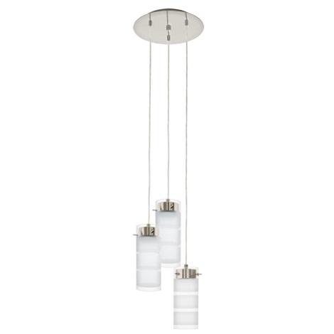Eglo 93544 - LED Mennyezeti függesztékes lámpa OLVERO 3xGX53/7W/230V
