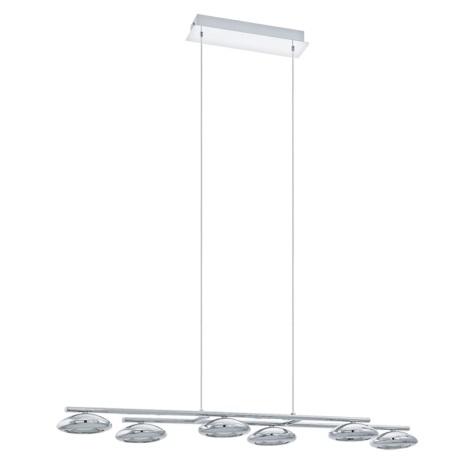 Eglo 93655 - LED Mennyezeti függesztékes lámpa TARUGA 6xLED/4,5W/230V