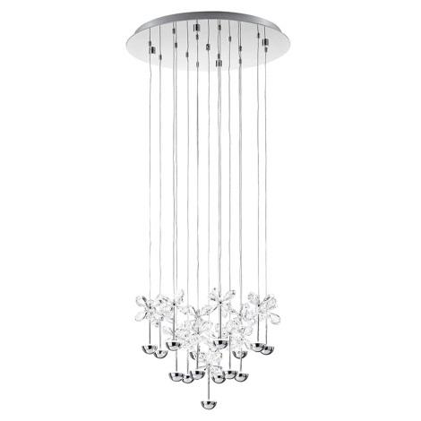 Eglo 93662 - Led függesztékes lámpa Pianopoli 15xLED/2,5 W/230V