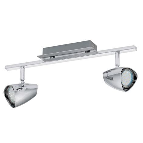 Eglo 93673 - LED spotlámpa CORBERA 2xGU10/3W/230V