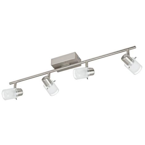 Eglo 93704 - LED Spotlámpa ORVIETO 1 4xLED/3,3W/230V
