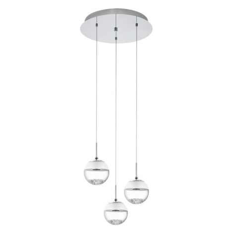 EGLO 93709 - MONTEFIO 1 LED-es csillár 3xLED/5W
