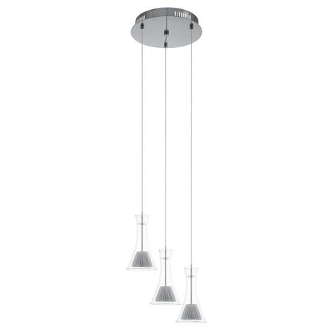Eglo 93792 - LED Csillár MUSERO 3xLED/5,4W/230V