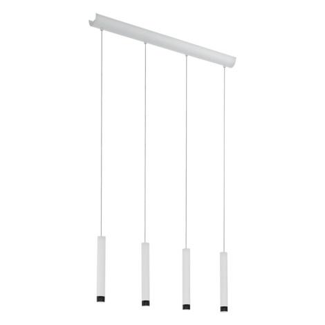 Eglo 93797 - LED Mennyezeti függesztékes lámpa RAPARO 4xLED/5W/230V