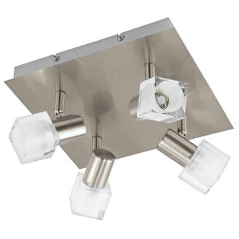 Eglo 93815 - LED Spotlámpa NOCERA 4xLED/5W/230V