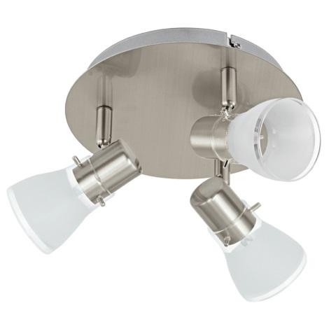 Eglo 93833 - LED spotlámpa PASTENA 3xLED/5W/230V