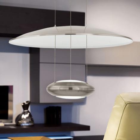 Eglo 93912 - LED Függeszték LEMOS 2xLED/7,8W/230V
