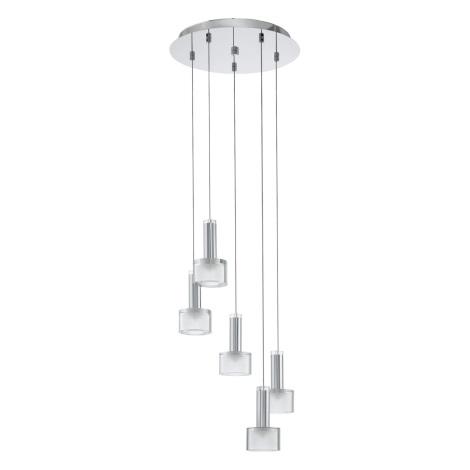 Eglo 93931 - LED Mennyezeti függesztékes lámpa FABIANA 5xLED/3,3W/230V
