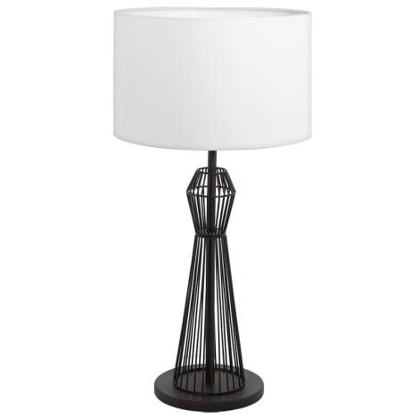 Eglo 93989 - Asztali lámpa VALSENO 1xE27/60W/230V