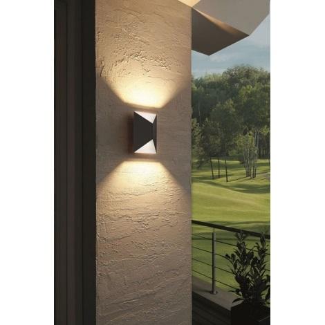 Eglo 93993 - LED-es kültéri lámpa Predazzo 2xLED/2,5 W/230V
