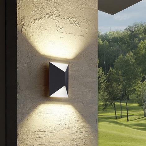 Eglo 93994 - LED-es kültéri lámpa Predazzo 2xLED/2,5 W/230V