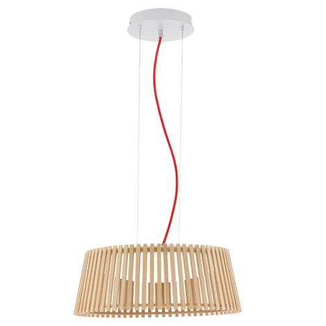 Eglo 94018 - LED függesztékes lámpa ROVERATO LED/18W/230V