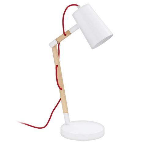 Eglo 94033 - Asztali lámpa TORONA 1xE27/60W/230V