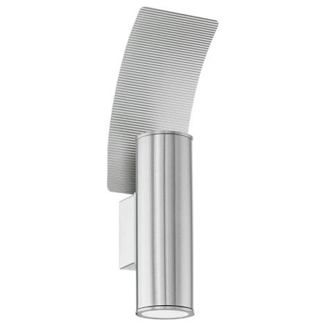 Eglo 94098 - LED-es kültéri lámpa RIGA 2 2xGU10/3W/230V