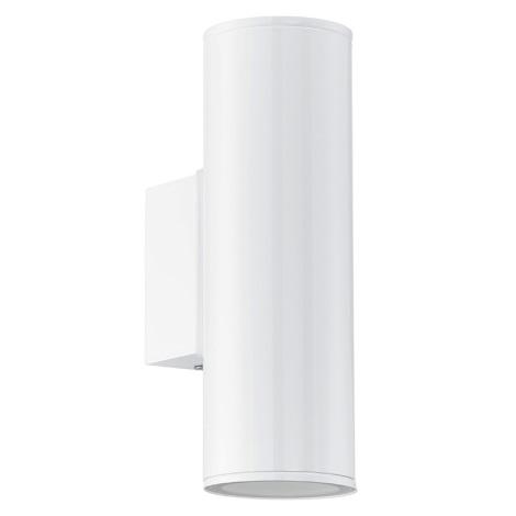 Eglo 94101 - LED-es kültéri lámpa RIGA 2xGU10/3W/230V