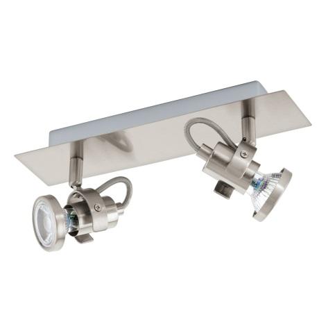 Eglo 94145 - LED Spotlámpa TUKON 2xGU10-LED/3,3W/230V
