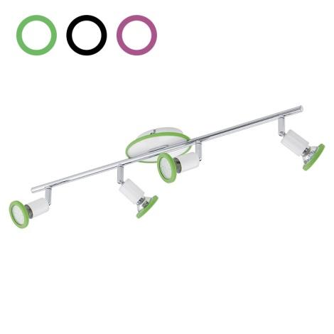 Eglo 94173 - LED Spotlámpa MODINO 4xGU10/3W/230V