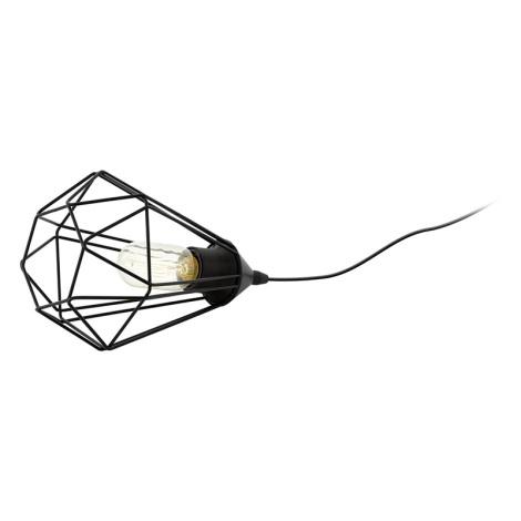 Eglo 94192 - Asztali lámpa TARBES 1xE27/60W/230V