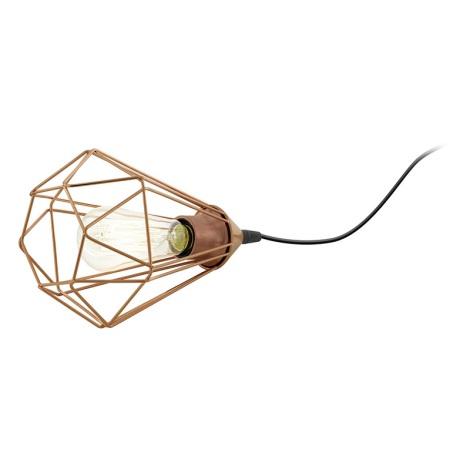 Eglo 94197 - Asztali lámpa TARBES 1xE27/60W/230V