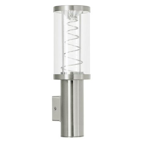 Eglo 94208 - LED-es kültéri lámpa Trono 1xGU10 1/3W + 1xLED/3,7W