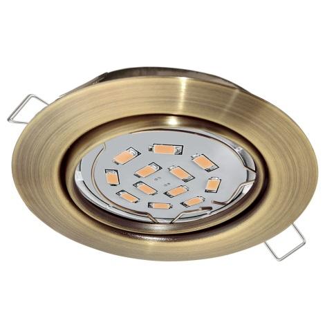 Eglo 94243 - LED Beépíthető lámpa PENETO 1xGU10-LED/5W/230V