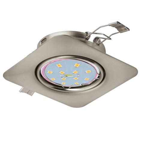 Eglo 94264 - LED Beépíthető lámpa PENETO 1xGU10-LED/5W/230V