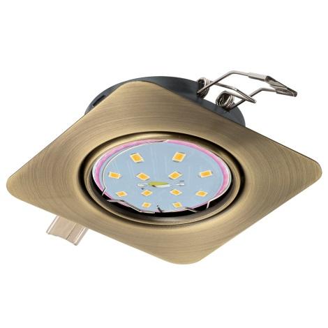 Eglo 94265 - LED Beépíthető lámpa PENETO 1xGU10-LED/5W/230V