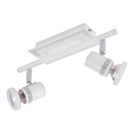 Eglo 94283 - LED Spotlámpa BONARES 2xGU10-LED/3,3W/230V