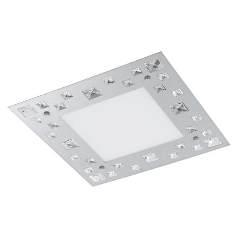 Eglo 94291 - LED Mennyezeti lámpa TRESANA LED/16W/230V kristály