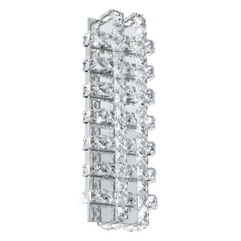 Eglo 94316 - LED Kristaly fali lámpa LONZASO 6xLED/3,3W/230V