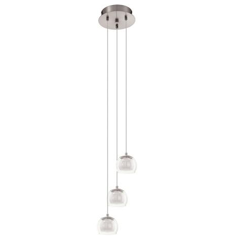Eglo 94318 - LED Mennyezeti függesztékes lámpa ASCOLESE 3xLED/3,3W/230V