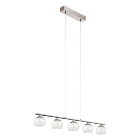 Eglo 94319 - LED Mennyezeti függesztékes lámpa ASCOLESE 5xLED/3,3W/230V
