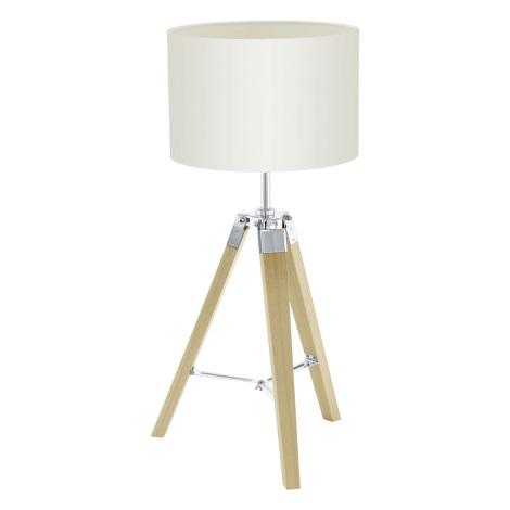 Eglo 94323 - Asztali lámpa LANTADA 1xE27/60W/230V