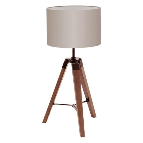 Eglo 94325 - Asztali lámpa LANTADA 1xE27/60W/230V