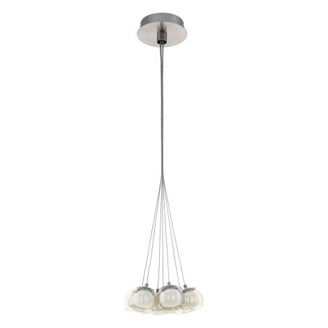Eglo 94328 - LED Mennyezeti függesztékes lámpa POLDRAS 7xLED/3,3W/230V
