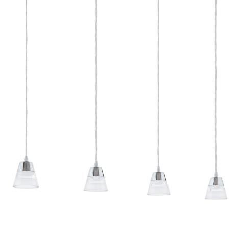Eglo 94356 - LED Csillár PANCENTO 4xLED/4,5W/230V