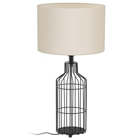 Eglo 94361 - Asztali lámpa BOLLENGO 1xE27/60W/230V