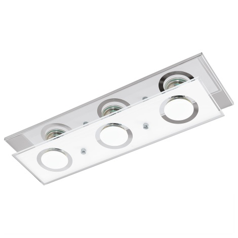 Eglo 94373 - LED Mennyezeti lámpa VARALLO 3xGU10-LED/3W/230V