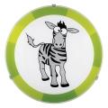Eglo 94458 - Gyereklámpa BIUBIU 1xE27/60W/230V zebra