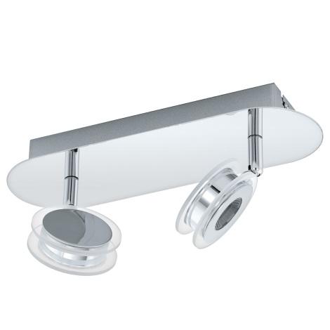Eglo 94489 - LED Spotlámpa SAROLO 2xLED/3,3W/230V