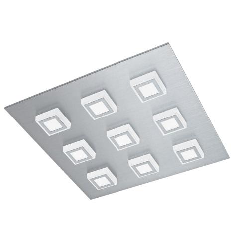 Eglo 94509 - LED Mennyezeti lámpa MASIANO 9xLED/3,3W/230V