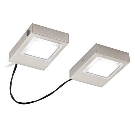 Eglo 94516 - Készlet 2x LED Konyhai pultmegvilágítók LAVAIO 2xLED/3,7W/230V