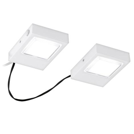 Eglo 94517 - Készlet  2x LED Konyhai pultmegvilágítók LAVAIO 2xLED/3,7W/230V