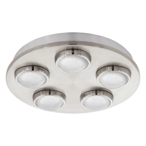 Eglo 94546 - Mennyezeti lámpa LOMBES 5xLED/4,2W/230V