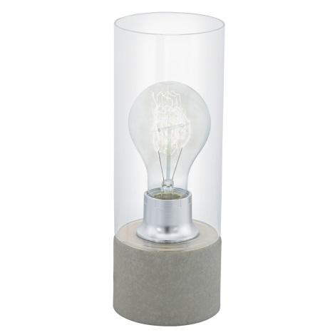 Eglo 94549 - Asztali lámpa TORVISCO 1xE27/60W/230V