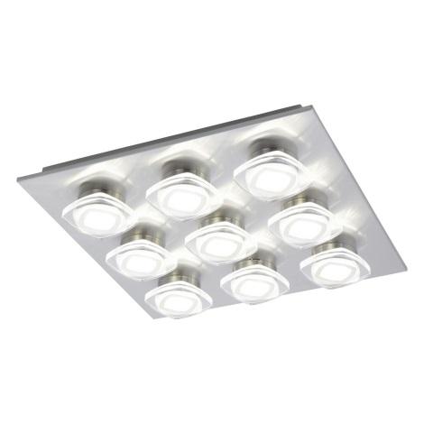 Eglo 94573 - LED Mennyezeti lámpa MARCHESI 9xLED/4,5W/230V