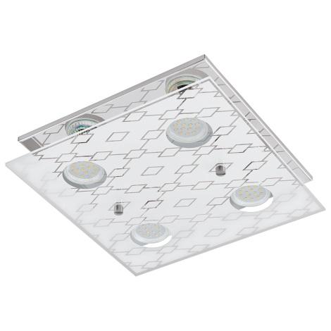 Eglo 94576 - LED Mennyezeti lámpa DOYET 4xGU10-LED/3W/230V